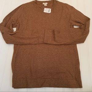 J. Crew wool/cotton blend sweater size XS NWT